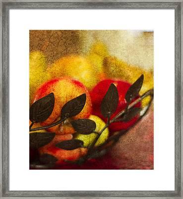 Bounty Framed Print by Rebecca Cozart