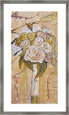 Bouquet Framed Print by Carrie Jackson