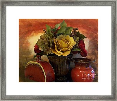 Bouquet Decor Ll Framed Print