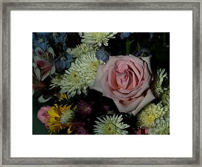 Bouquet For A Friend Framed Print