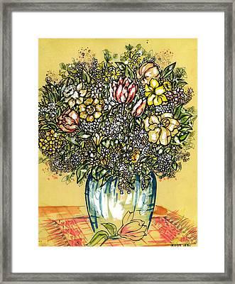 Bouquet For You Framed Print by Judith Herbert