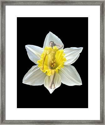 Bouquet Framed Print by Kurt Van Wagner