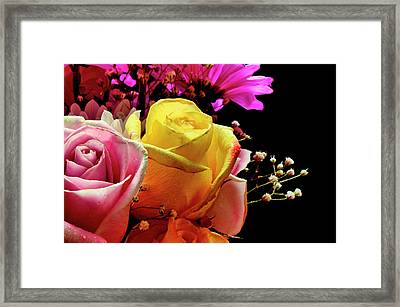 Bouquet Framed Print by Laura Mountainspring