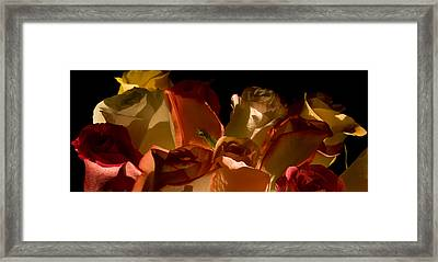 Bouquet Of Shadows Framed Print