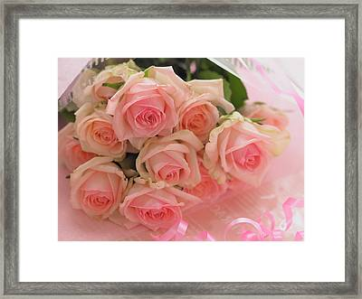 Bouquet Of Sweetness Framed Print