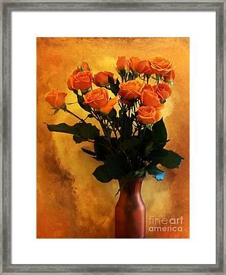 Bouquet Ole Framed Print by Marsha Heiken