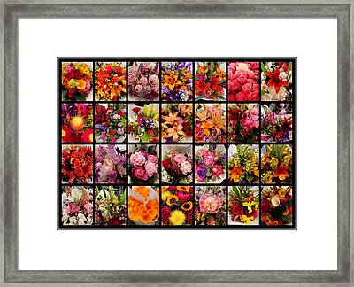 Bouquets Framed Print