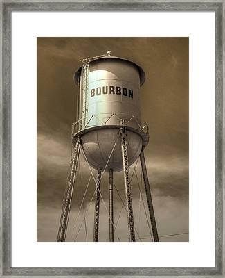 Bourbon Framed Print by Jane Linders