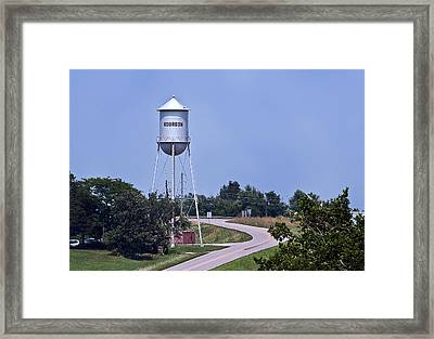 Bourbon Mo Tower Framed Print