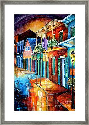 Bourbon Street Song Framed Print by Diane Millsap