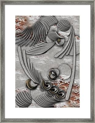 Bourgeoisie Creation Framed Print