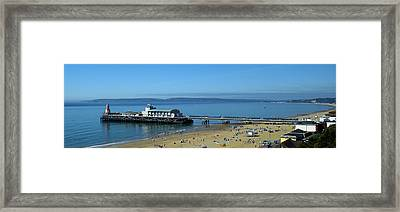 Bournemouth Pier Dorset - May 2010 Framed Print