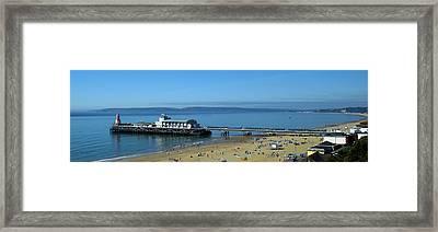 Bournemouth Pier Dorset - May 2010 Framed Print