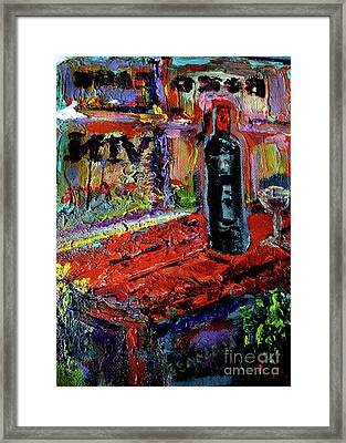 Boutique De Vins Francais 1 Framed Print