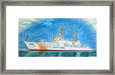 Boutwell-u.s.coast Guard 719 Framed Print
