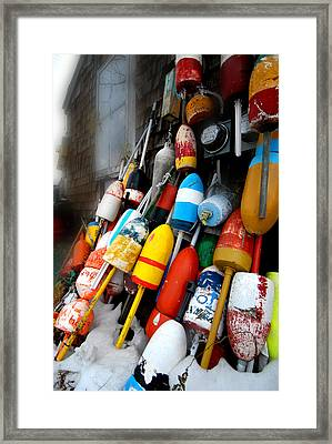 Bouys Framed Print by Craig Incardone