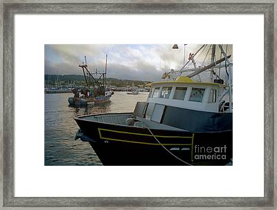 Bow And Stern Framed Print