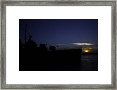Bow Framed Print by David Keith