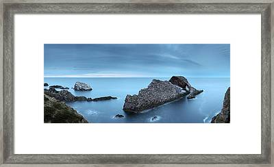 Bow Fiddle In The Gloaming Framed Print