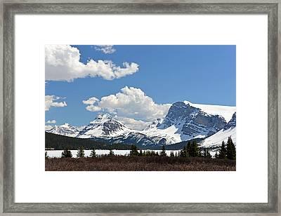 Bow Lake Vista Framed Print