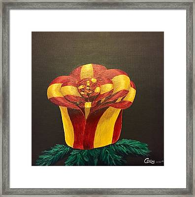 Bow Rose Framed Print