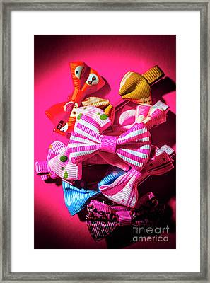 Bow Tie Fashion Show Framed Print by Jorgo Photography - Wall Art Gallery
