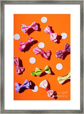 Framed Print featuring the photograph Bow Tie Party by Jorgo Photography - Wall Art Gallery