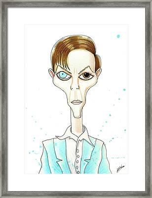Bowie  Framed Print