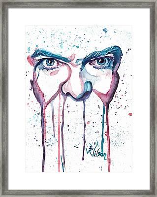 Bowie Framed Print by D Renee Wilson