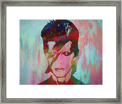 Bowie Reflection Framed Print