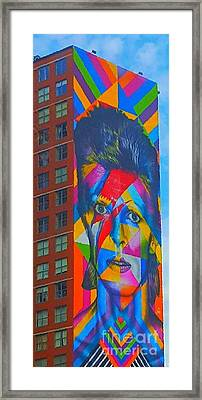 Bowie Framed Print by Stacey Brooks