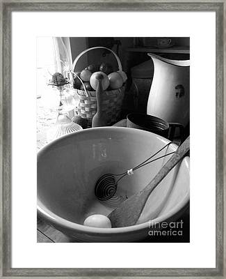 Bowl Framed Print