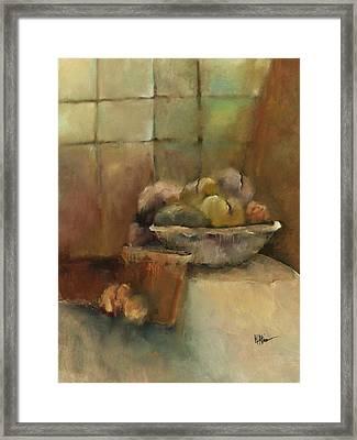 Bowl Of Fruit Framed Print by M Allison