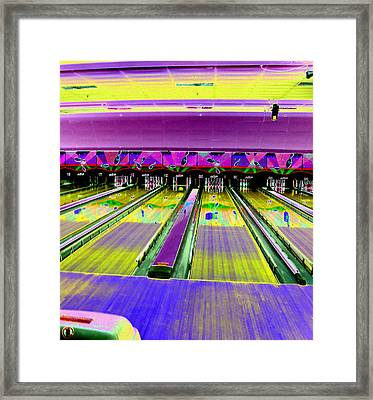 Bowling Alley Framed Print by Peter  McIntosh