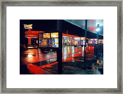 Bowling Green Sonic Drive-in Framed Print