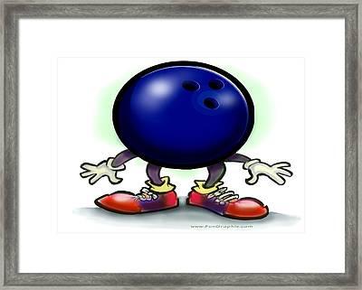 Bowling Framed Print by Kevin Middleton