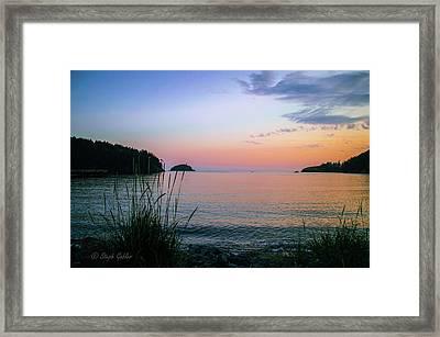 Bowman Bay Framed Print