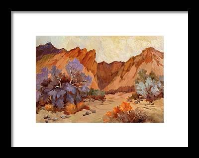 Box Canyon Framed Prints