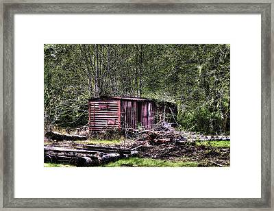Box Car Framed Print by David Patterson