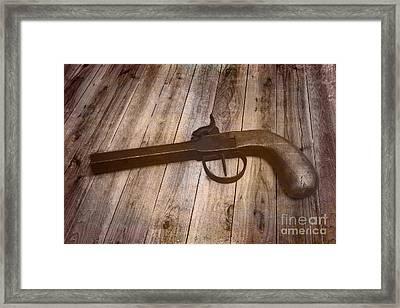 Box Lock Pistol Framed Print by Jorgo Photography - Wall Art Gallery