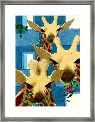 Box Lunch Framed Print