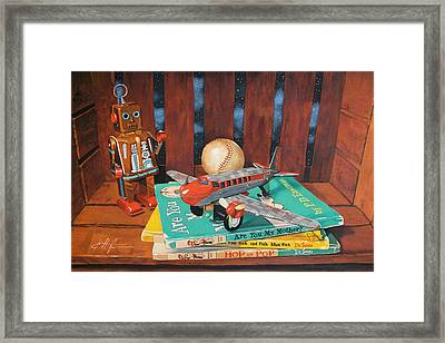 Box Of Beebop Framed Print