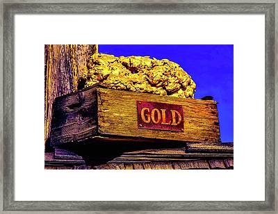Box Of Gold Framed Print