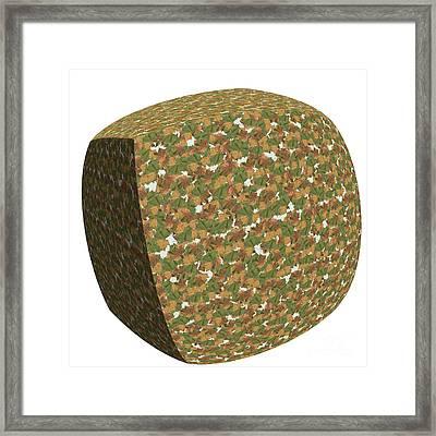 Box Of Leaves.  Framed Print