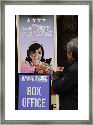Box Office Framed Print