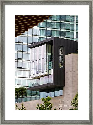Framed Print featuring the photograph Boxed In by Chris Dutton