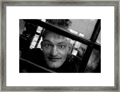 Boxed In Framed Print by Jez C Self