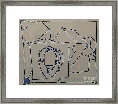 Boxed In Framed Print by John Malone