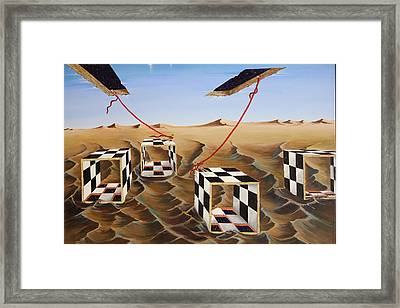 Boxed In Framed Print by Sandra Scheetz-Wise