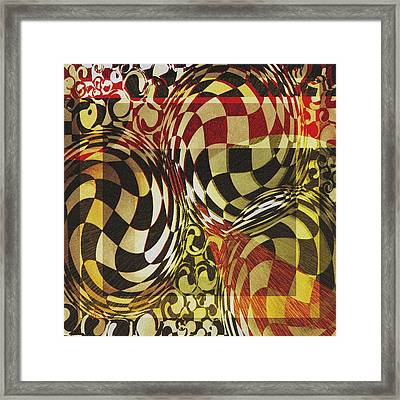 Boxed In Framed Print